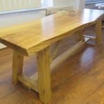 Ahorn Tisch (Ugestell Modell 2)