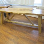 Ahorn Tisch (Ugestell Modell 2)(1)