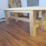 Ahorn Tisch (zweiteilig)(3)